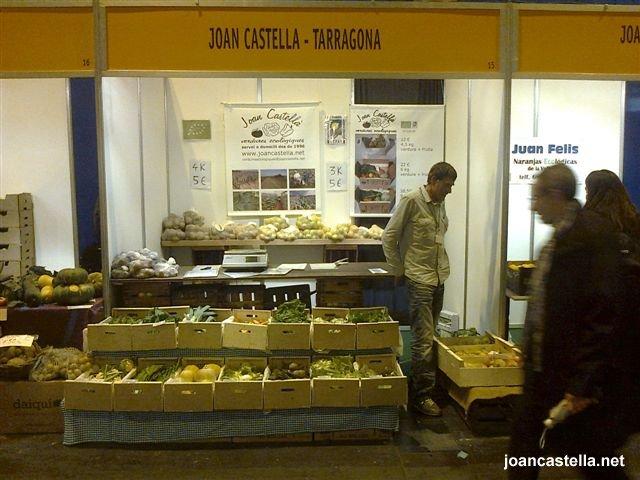 Verdures Ecològiques Joan Castellà > <b>NOTÍCIES</b> > Hem estat a BioCultura 2012