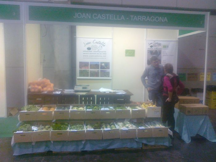 Verdures Ecològiques Joan Castellà > <b>NOTÍCIES</b> > BIOCULTURA. València 2013