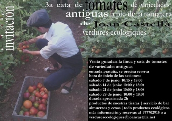 III Edición de la Cata de Tomates